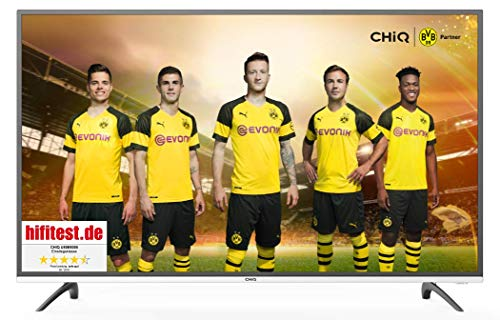 CHiQ Smart 4K TV U50E6000, 50 Pouces (127cm) Ultra Haute Définition, 3840x2160, Netflix, Youtube, Facebook, Twitter, HDMI,...