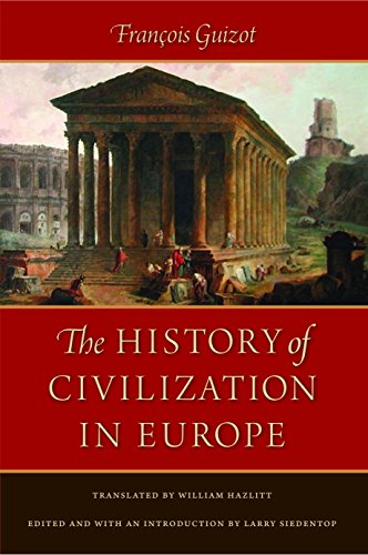 Guizot, F: History of Civilization in Europe
