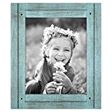 Americanflat 8x10 Rustic Picture Frame in Turquoise...