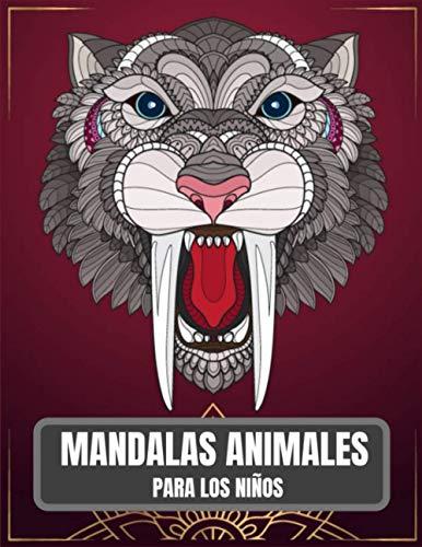 Mandalas Animales Para Los Niños: 65 mandalas de animales para niños de 4 a 8 años fomentan la creatividad con un libro para colorear de mandalas para niños
