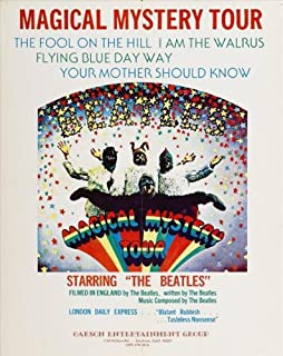 Magical Mystery Tour 11 x 17 Movie Poster - Style A