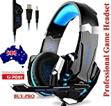 Bengoo Gaming Headset For PS4 Professional 3.5mm PC LED Light Game Bass Headphones