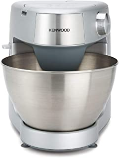 Kenwood Prospero Plus KHC29.A0SI Stand Mixer for Baking, Compact 4.3 Litre, 3 Bowl Tools, 1000 W, Silver,