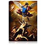A&T ARTWORK Luca Giordano The Fall of The Rebells Angels