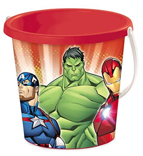 Mondo Mondo-28432 Bucket Avengers Playa - Cubo Renew Toys 28432, Multicolor