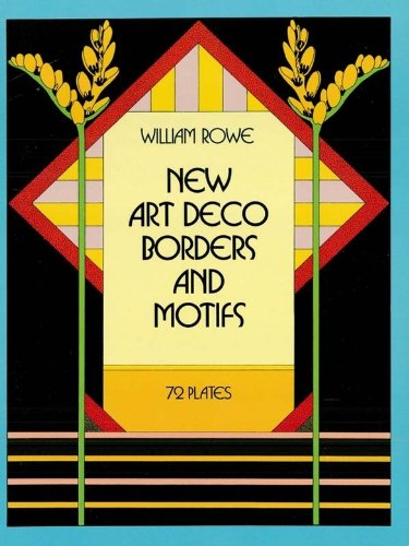 New Art Deco Borders and Motifs (Dover Pictorial Archive) (English Edition)