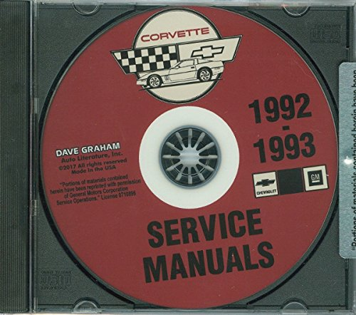 corvette factory service manual - 9