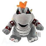 10' Super Mario Dry Bowser Bones Koopa Plush Doll Soft Toy Stuffed Animal 1Pcs