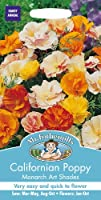 MFFL 英国ミスター・フォザーギルズシード Mr.Fothergill's Seeds Californian Poppy(Eschscholzia) Monarch Art Shades カリフォルニア・ポピー(エスコルシア)・モナーク・アート・シェイズ