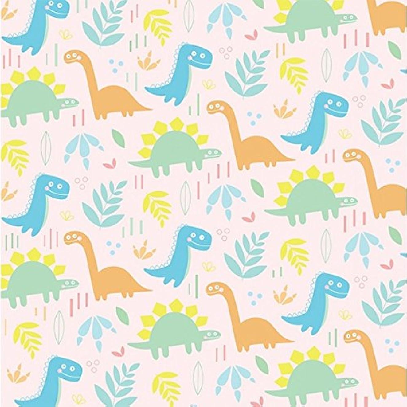 Karen Foster Design 12 x 12-Inch Scrapbooking Paper, 25 Sheets, Dinos!