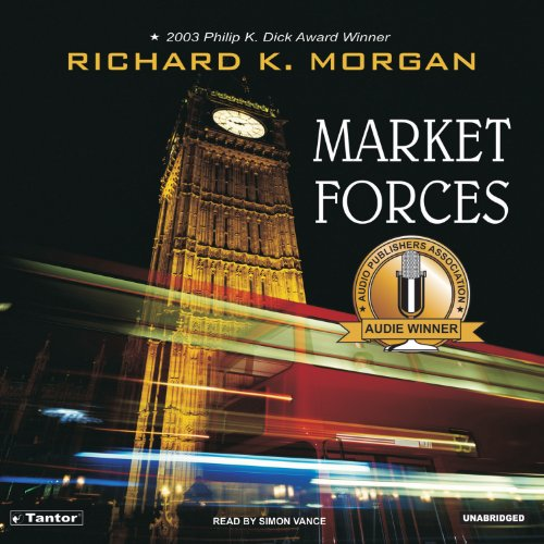 Market Forces audiobook cover art