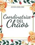Coordinatrice Agenda 2020-2021: Agenda Diario Settimanale 2020 2021 A4 | Ottobre 2020 -Dicembre 2021 | Priorita , Obiettivi , Gratitude | Regali per la famiglia o i colleghi