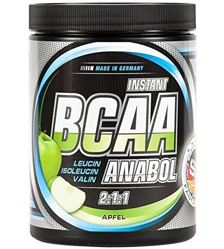 S.U. BCAA-ANABOL, 500g Pulver, Apfel