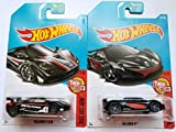 Hot Wheels Mattel 2017 Then and Now Series - McLaren F1 GTR & McLaren P0