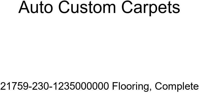 Sale price Auto Custom Carpets Complete Flooring Max 81% OFF 21759-230-1235000000