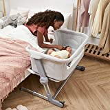 Unilove Bassinet and Bedside Sleeper, Hug Me Plus | Portable Travel Crib Includes Carry Bag, Mattress, Breathable...