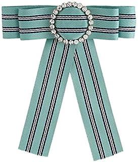CBCJU Accesorios de Moda de Moda Corbata de Lazo de Tela para Mujer 15 * 13cm