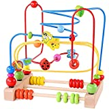 Best Bead Mazes - NA Bead Maze Roller Coaster Wooden Educational Circle Review