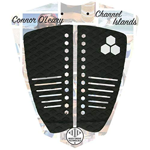 Channel Islands Connor OLeary - Almohadilla para tabla de surf (2 unidades), color negro