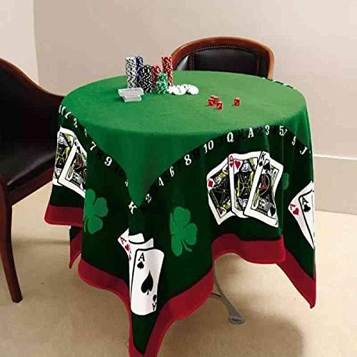 Toalha De Mesa Aveludada Jocker Baralho Poker Truco Lepper