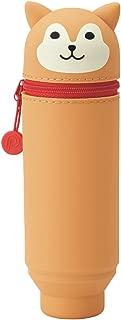 LIHIT LAB. PuniLabo Stand Up Pen Case (Pen Holder), Dog, 2.4