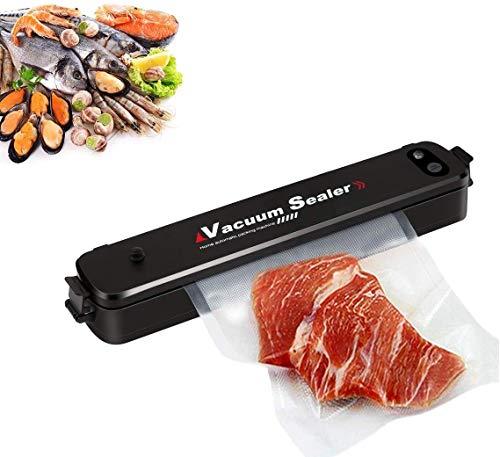 Vakuumiergerät, Vakuumierer Automatisch Vakuum & Versiegeln Modi für die Lebensmittelkonservierung Leichtes Design - 5x länger frisch & stabile Schweißnaht - mit 15 Vakuumierbeutel