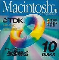 TDK Macintosh用 3.5インチフロッピーディスク 10枚パック MF2HD-MCX10PS