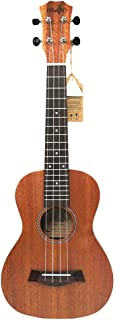 TOOGOO 21 Inch Ukulele Mahogany Soprano Beginner Ukulele Guitar Dolphin Pattern Ukulele Mahogany Neck Delicate Tuning Peg 4 Strings Wood Ukulele