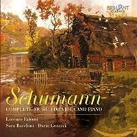 シューマン:ヴィオラとピアノのための作品全集