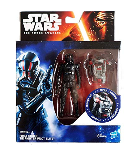 Star Wars The Force Awakens - First Order TIE Fighter Pilot Elite - Armor Up 3.75
