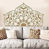 Pegatina Mandala Decorativa Mesita De Noche Estilo Boho Patrón Marroquí Yoga