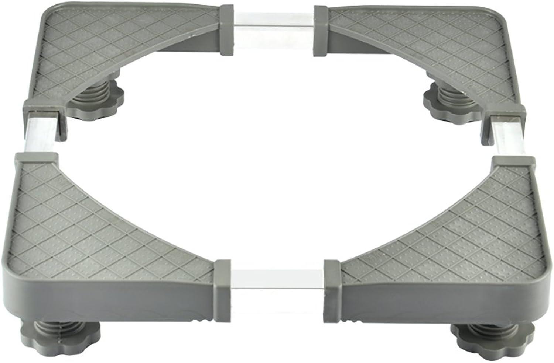 elige tu favorito NUBAO Multifuncional Base Fija Ajustable Lavadora Lavadora Lavadora Secadora Refrigerador Armario Aire Acondicionado Telescópico Cuatro Patas Arroz gris  ahorre 60% de descuento