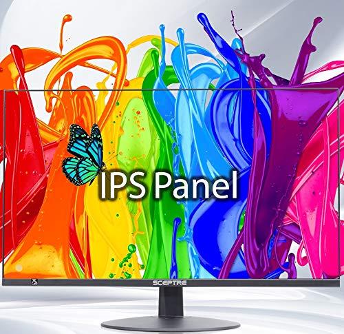 Sceptre IPS 27 pulgadas Business Computer Monitor 1080p 75Hz con HDMI VGA Altavoces integrados, máquina negra 2020 (E275W-FPT)