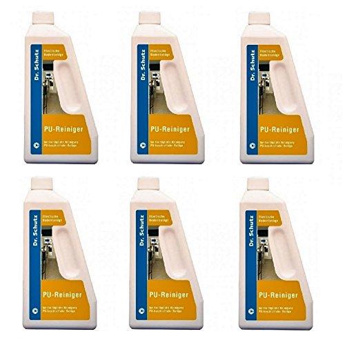 Dr. Schutz PU Reiniger 0,75 Liter 6 Stück