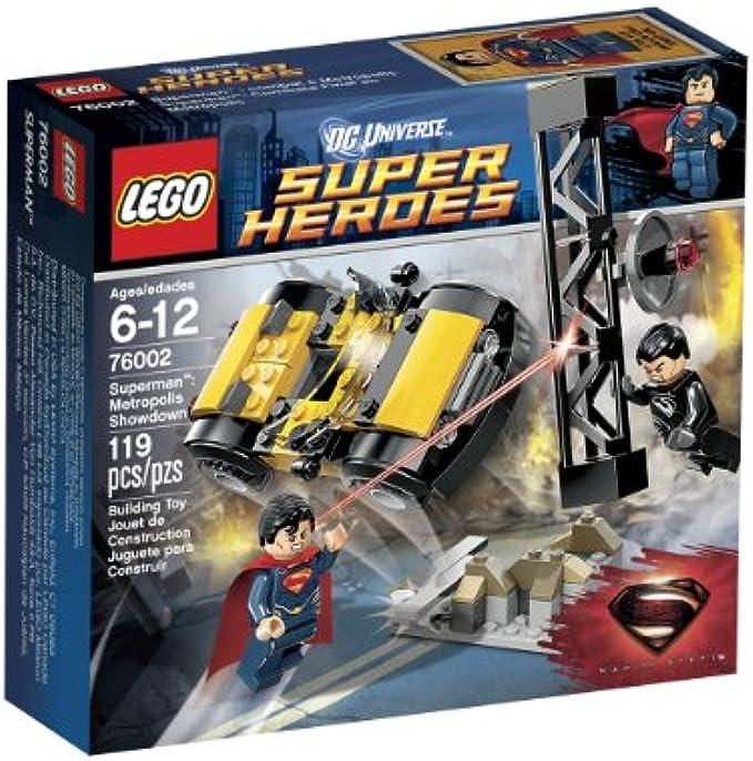 LEGO גיבורי על 76002 סופרמן  דו קרב מטרופוליס