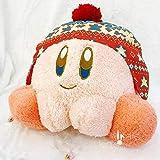 yitao Peluches 35cm Figuras De Kirby Juguete De Felpa Estrella Kirby Cosplay Sombrero De Invierno Serie Figura Almohada Suave Juguetes De Peluche