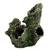 Dvirroi Large Hollow Tree Trunk Decor, 6.7'' X...