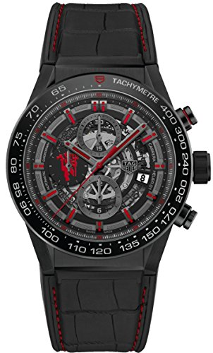 Tag Heuer Heuer 01 automatico cronografo Limited Edition Red Devil Manchester United CAR2 A1J.FC6400