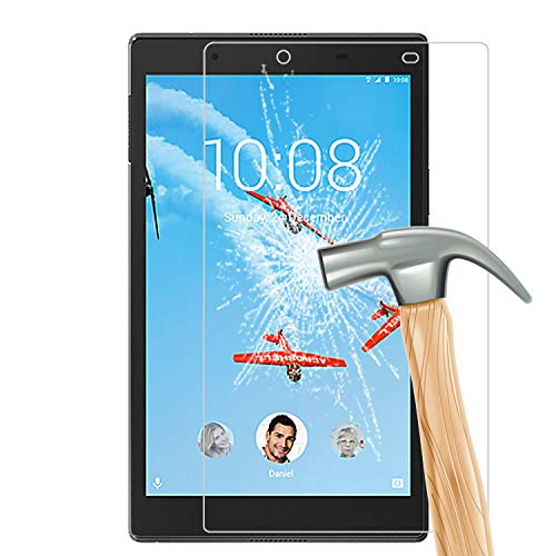 "M.G.R.J® Tempered Glass Screen Protector for Lenovo Tab4 8 Tablet (8"" inch)"