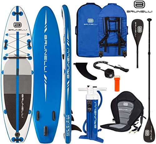 Brunelli 10.8 Premium SUP Board Stand Up Paddle Surf-Board aufblasbar Paddel ISUP 325cm