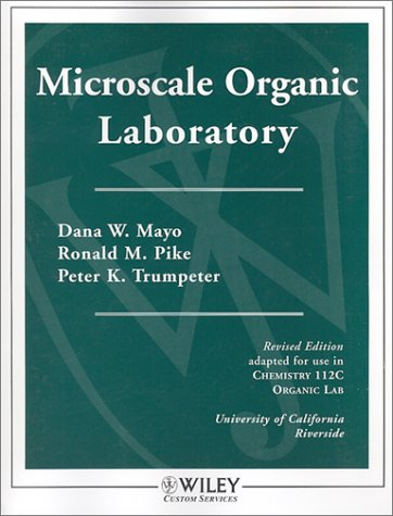 Wcs Microscale Organic Laboratory Chemistry 112C