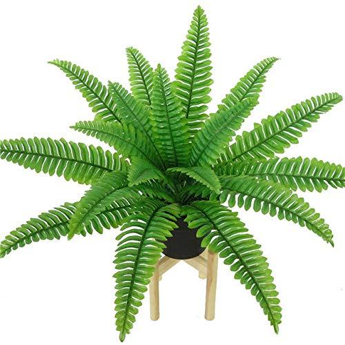 U/D HLIAN Simulación Helecho Verde de Hierba Artificial de la Planta Hojas de Helecho Persa Pared de Flores Plantas Colgantes Inicio Tienda de la Boda Decoración (Color : 5, Size : One Size)