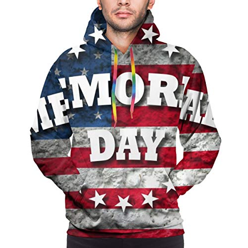 Memorial Day American Flag Youth 3D Printed Hooide Sweatshirt with Pocket XXXL
