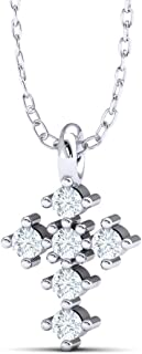 1 pieces, Mignon Cross Charms w/CZ, Nickel free, 8x5mm, 16K White gold plated Silver, Champagne, Tiny Necklace Charms, Earring Charms