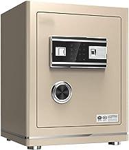Wall Safe Medium Touch Screen Password, Home Safe, Office Alarm, Fingerprint Safe, Bedside Electronic Lock Box (Size: 45 X...