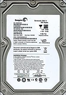 Seagate ST3500320AS P/N: 9BX154–568F/W: SD35wuxisg 500GB