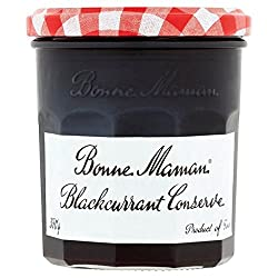 Packaging Info: Glass jar and metal lid recyclable. Refrigerate after opening. Country of Origin: France. Blackcurrant Jam