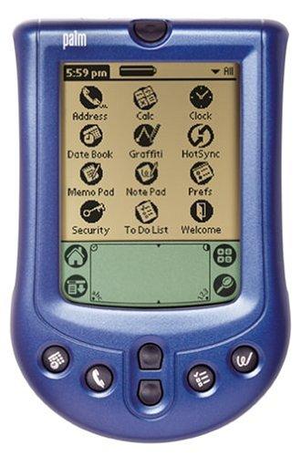 Palm Abdeckung für Palm m100 blau metallic