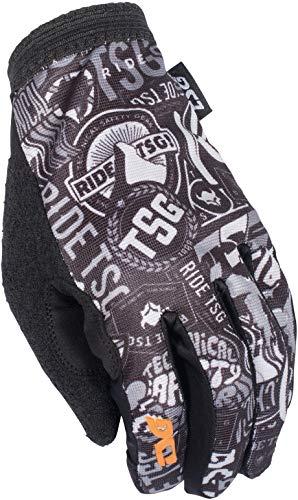 TSG Bike-Handschuhe Slim Grau Gr. M