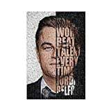 The Wolf of Wall Street Leonardo Movie (3) Leinwand Poster